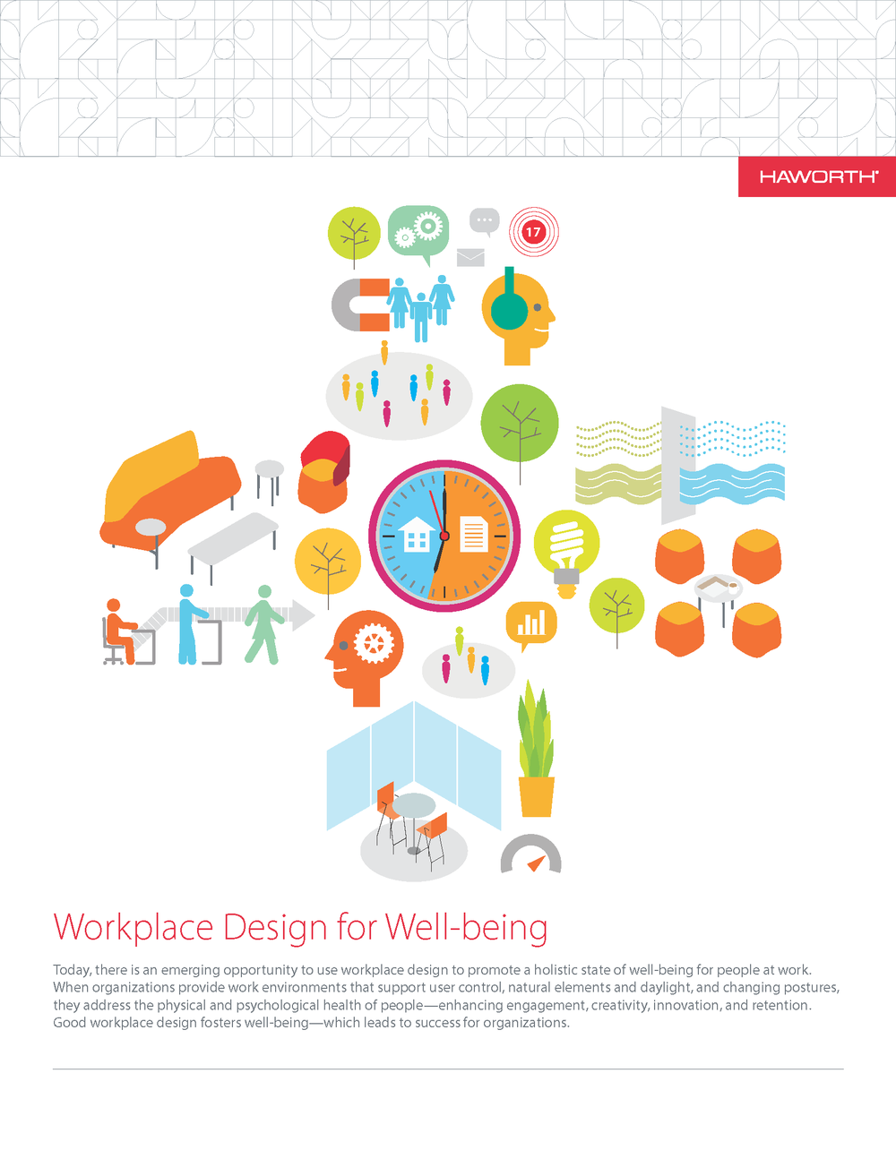 Workplace Design for Well-being: courtesy of Haworth