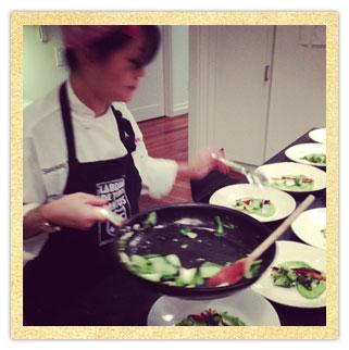 Sue Chef frying