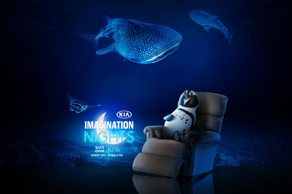 GEORGIA AQUARIUM - COMPOSITING • RETOUCHING • COLOR & FINISH