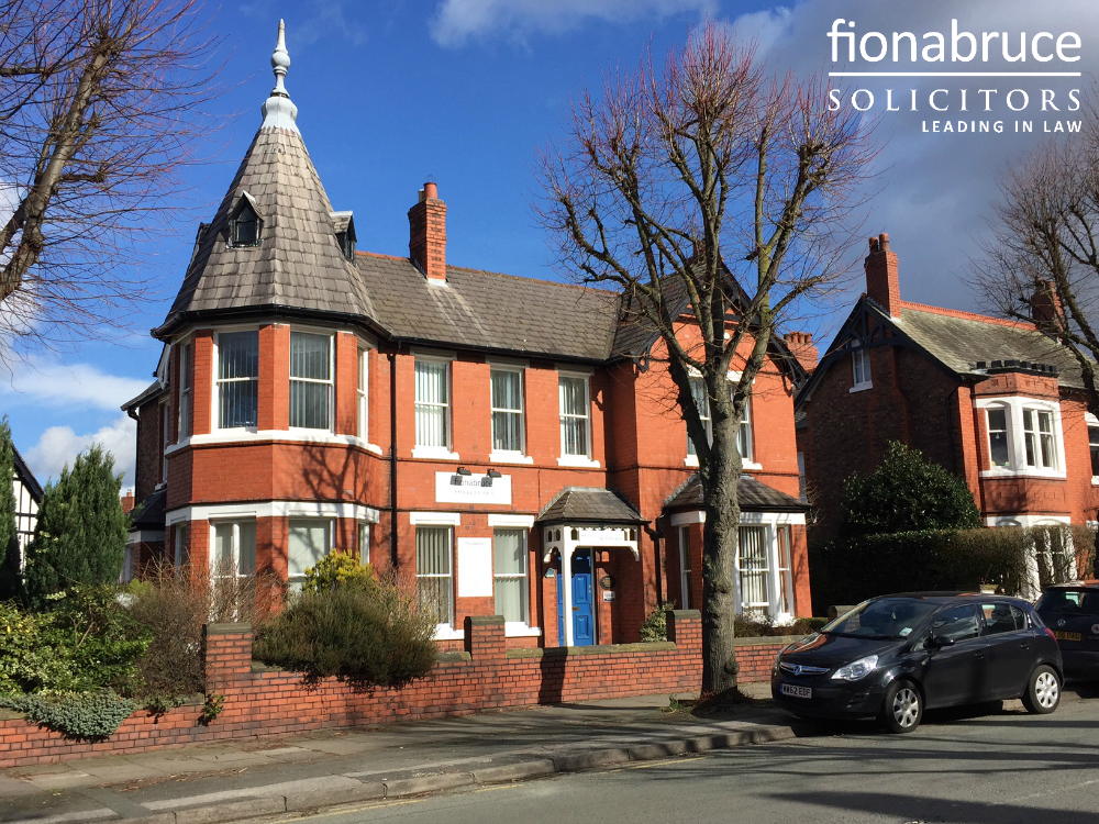 Fiona Bruce Solicitors' offices in Warrington