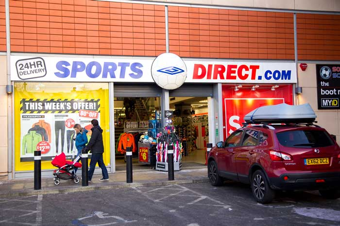 Sports Direct under scrutiny for employment law