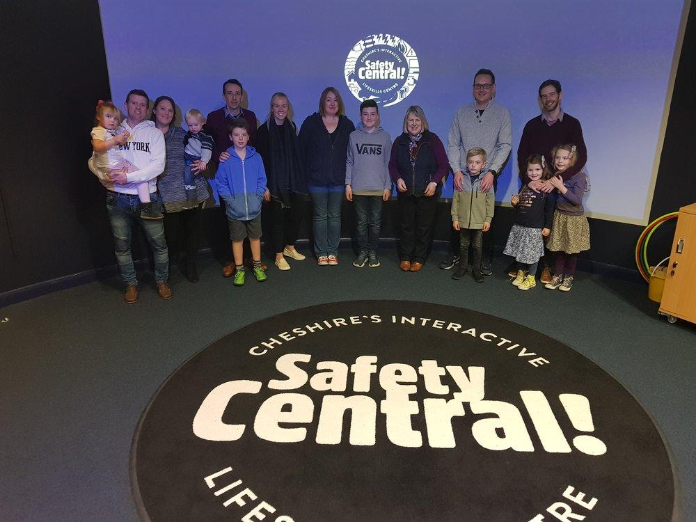 Safety Central visit