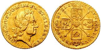 George I on the quarter-guinea (Source)