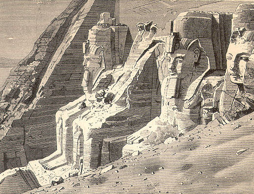 The Temple of Ramesses II at Abu Simbel ( Source )