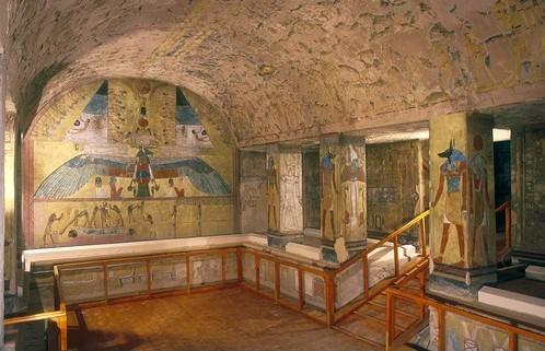 Tomb of Setnakht (KV14). Image:  Realms-commonswiki
