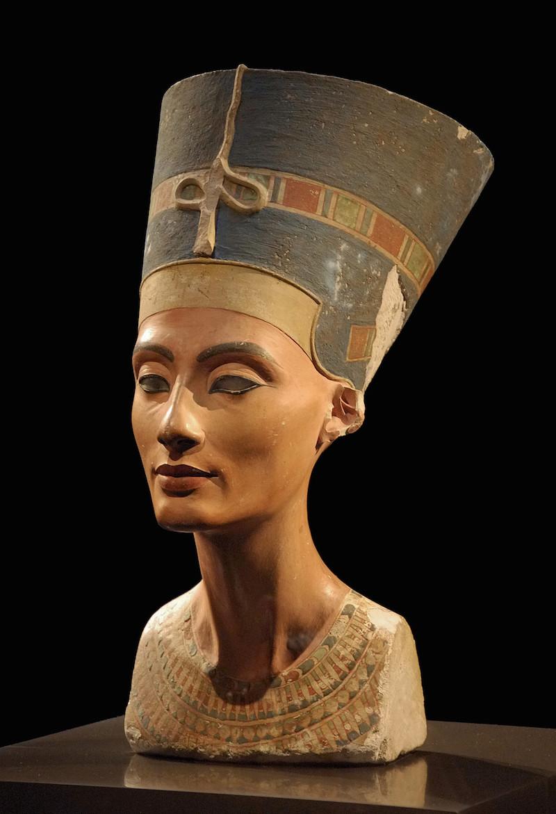 Nefertiti Bust from Neues Museum, Berlin. Image: Philip Pikart