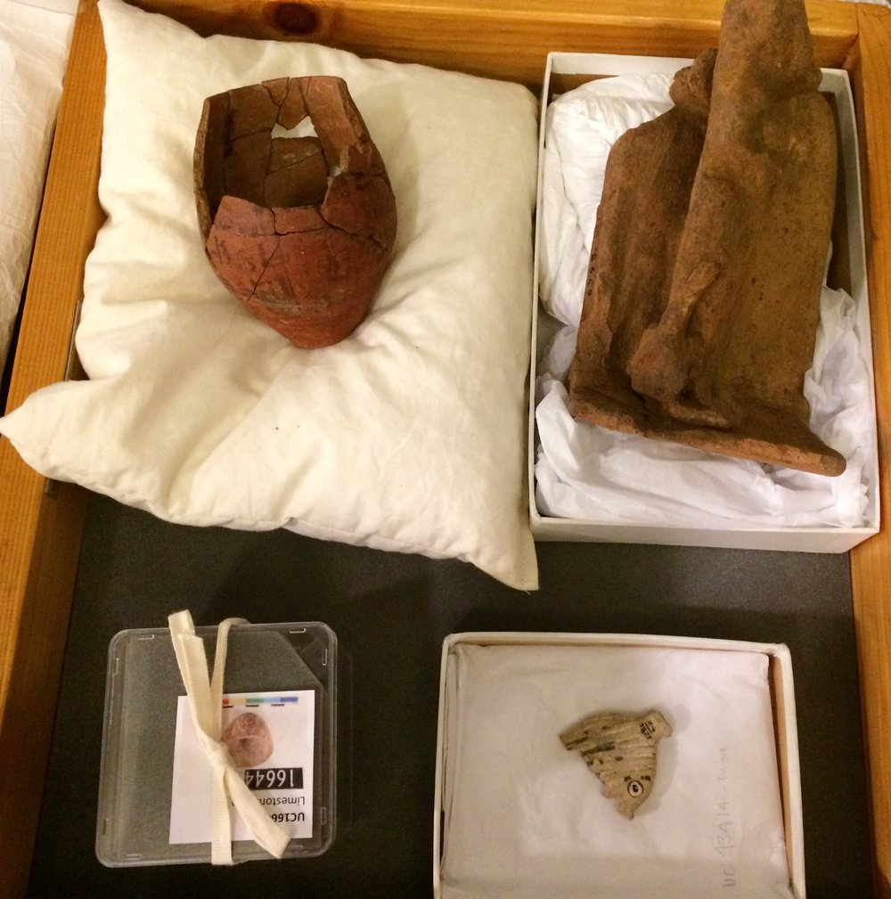 Magical objects from Petrie Museum collection