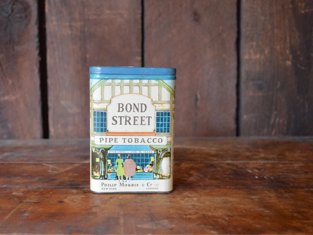 untold imprint vintage tobacco tin