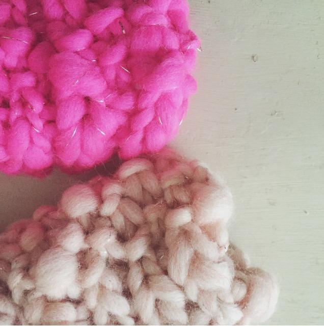 wool knit cuffs