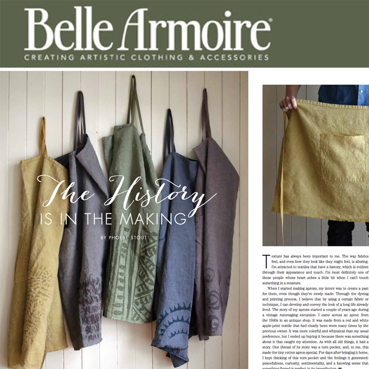 Untold Imprint feature in Belle Armoire magazine - Summer 2016