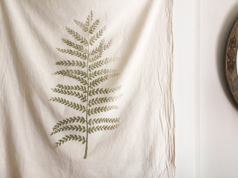 Fern cotton towel by Untold Imprint