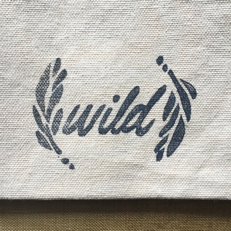 wild zip pouch by Untold Imprint