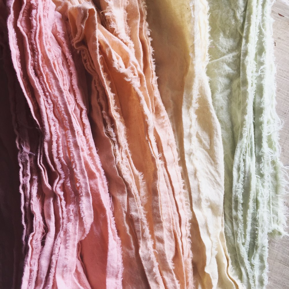 Untold Imprint naturally dyed cotton