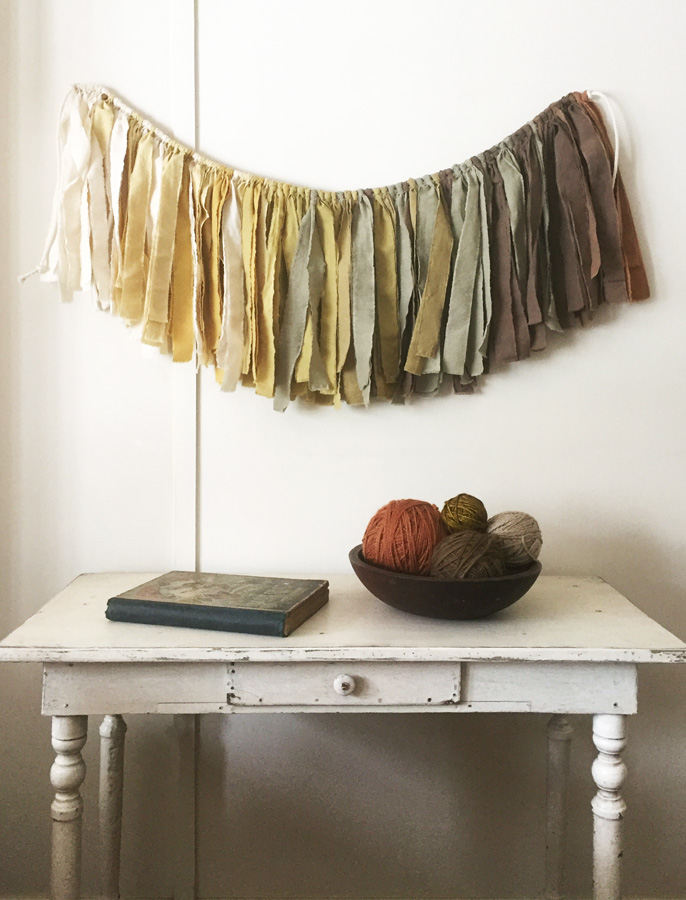 Untold Imprint Naturally Dyed Forest Garland