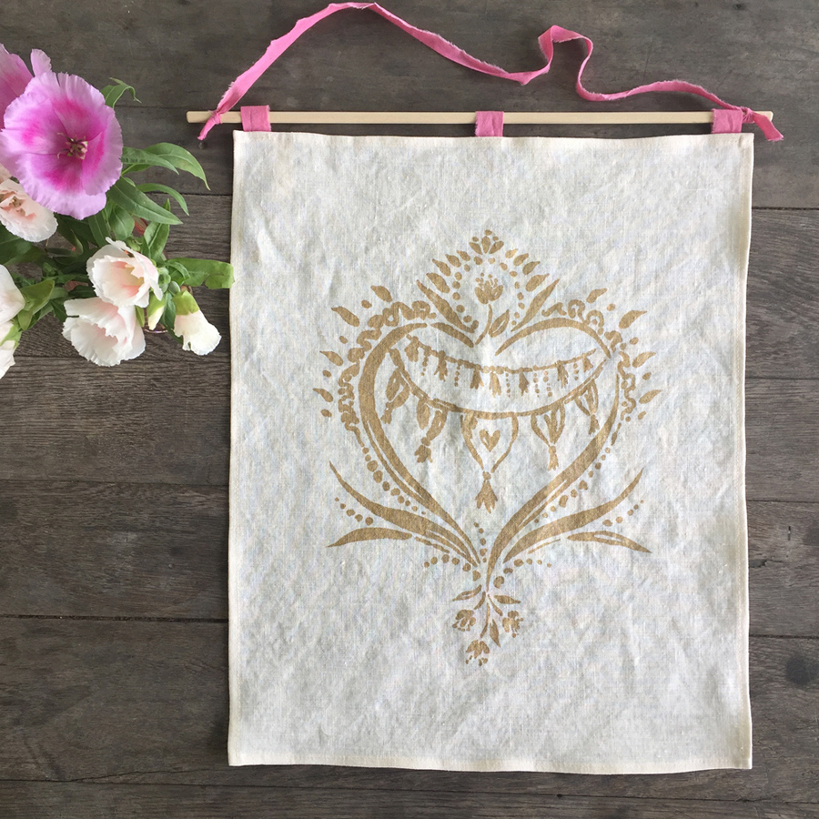 Full Heart Wall Hanging by Untold Imprint