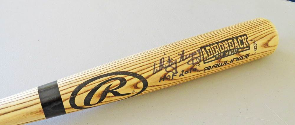 Whitey Herzog Signed Bat