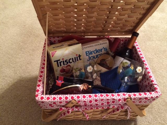 Birders' Picnic Basket