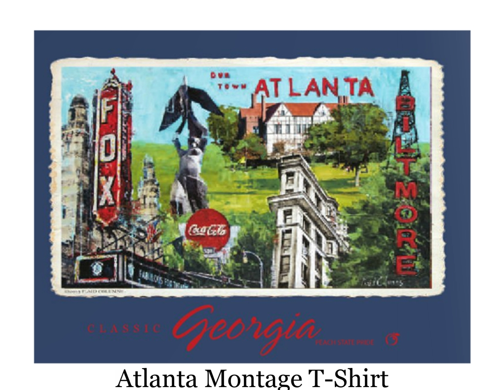 Atlanta Montage T-Shirt