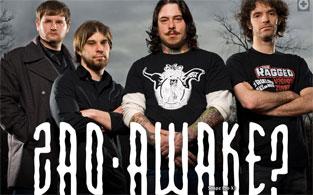 Zao's New CD, AWAKE? will be available May 5, 2009