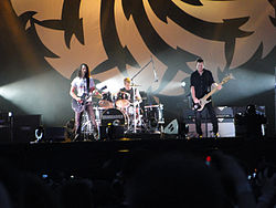 Soundgarden Live in Chicago at the 2010 Lolapaloza Tour