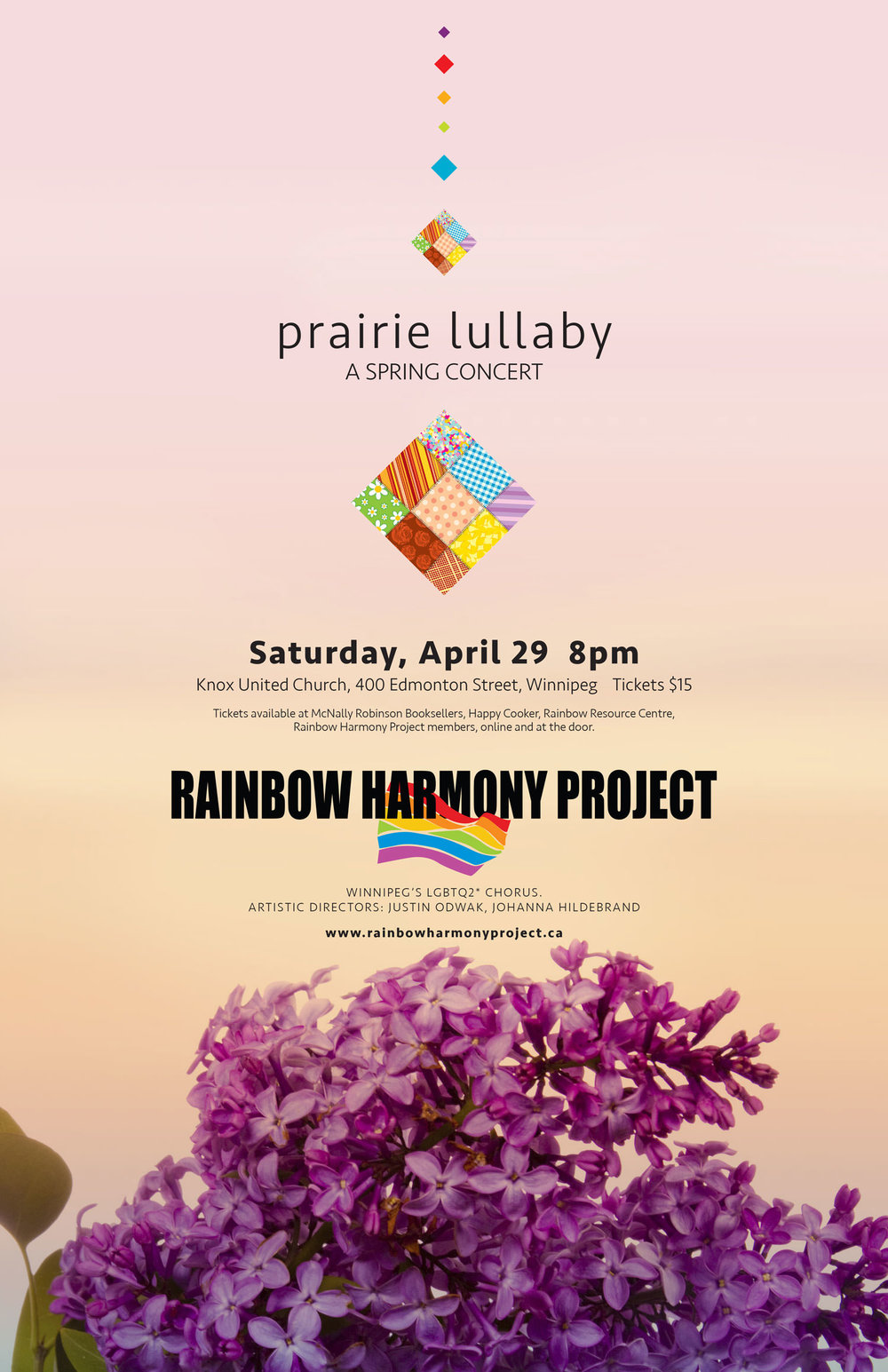Rainbow Harmony Project SRPING CONCERT 2017 Prairie Lullaby