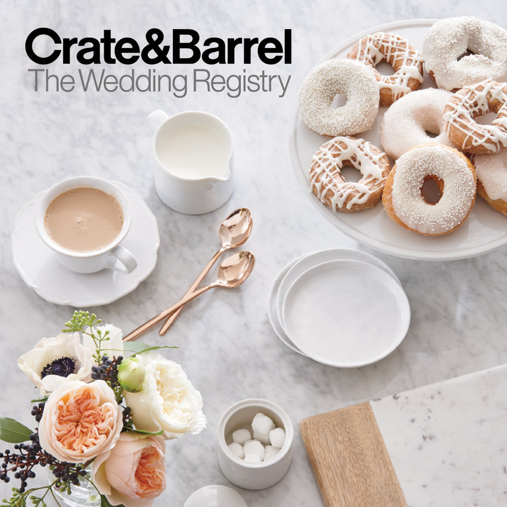 Crate and Barrel Sara Brown Weddings