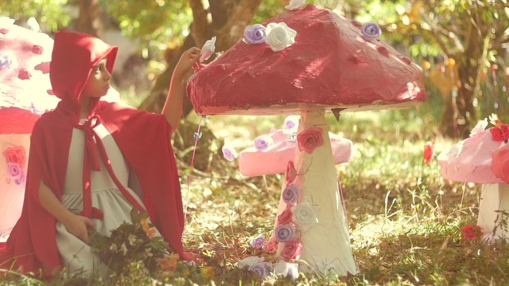 Bindi Aswani as Little Red Riding Hood