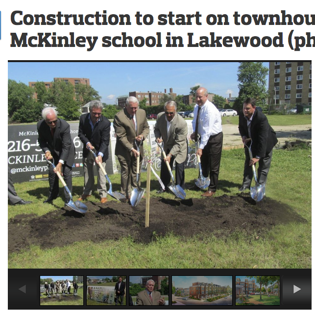 CLEVELAND.COM - Breaking ground with Lakewood City.