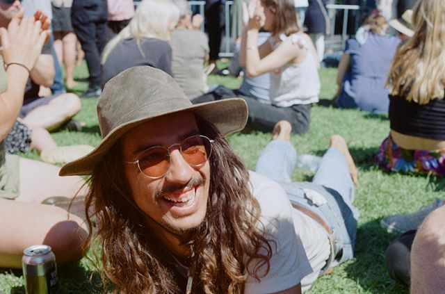 Tres excited to hear @gypsysofpangea are back at it. @newtownfestnz 2018 #35mm #asahipentax