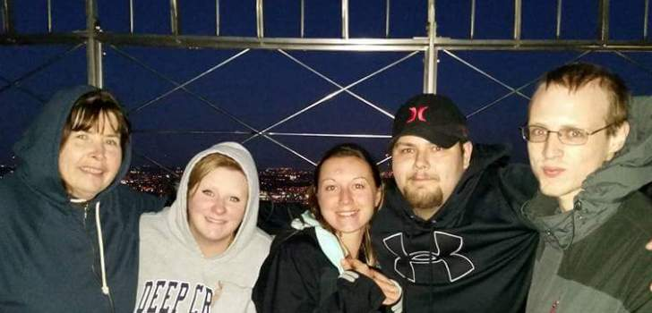 Greetings from the Empire State Building!!  Left to Right:  Brenda, Melissa, Sydney, Cody, and Matt.  Photo cred: Jeany