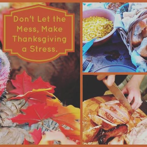 Having the family over soon? Don't let the mess make Thanksgiving a stress! #CasaBellaCleaningService can help make this festive time of year a little less hectic and a lot more orderly for you. We can come BEFORE and/or AFTER your event! Call today to get your cleaning scheduled before it's too late! 419.308.1686