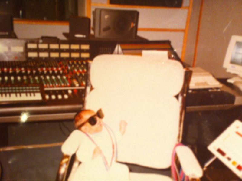 Studio at 7 Weeks Old.