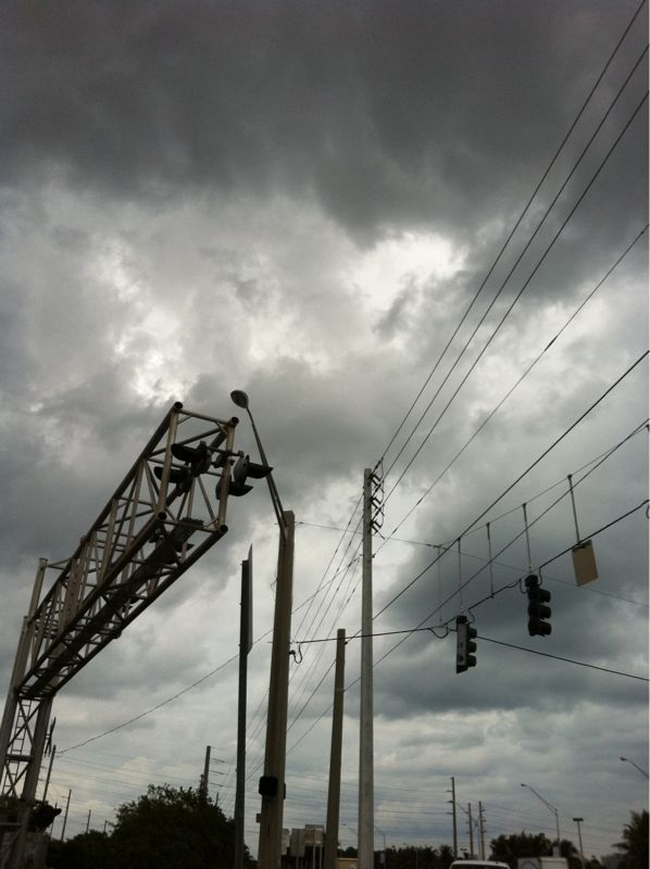 North Miami skies.