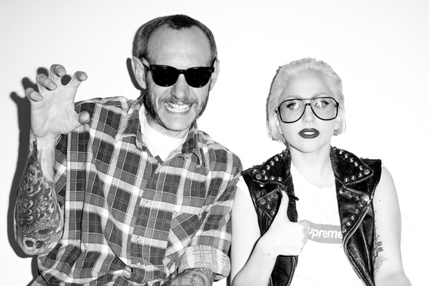 fuckyeahsupreme: Terry Richardson x Lady Gaga for Supreme
