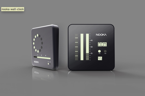 Nooka Wall Clock. Must have it.