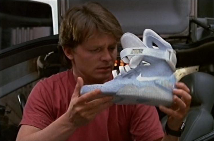 scottiebeam :     Back to the Future Nike.