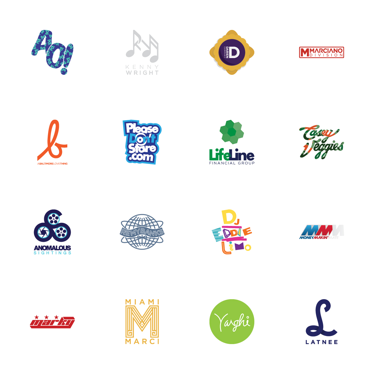cherrycollaborative :     A sampling some of the many logos designed by Cherry Collaborative in the last 6 months…   More out there and always more on the way…  www.CherryCo.jp    For design inquires contact Cherry@CherryCo.jp