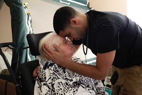 filipinopinoy: Drake: I made it! I finally signed my contract. Now I have millions of dollars. Is there anything you want? I'll give you anything you want. Drake's Grandma: You have a million dollars?! Drake: No grandma, I have millions of dollars! I can get you anything! What do you want? Drake's Grandma: I just want a hug and a kiss.