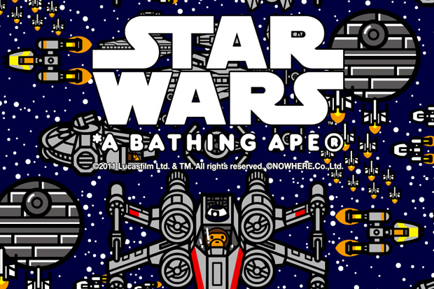 hypebeast: A Bathing Ape x Star Wars 2012 Capsule Collection