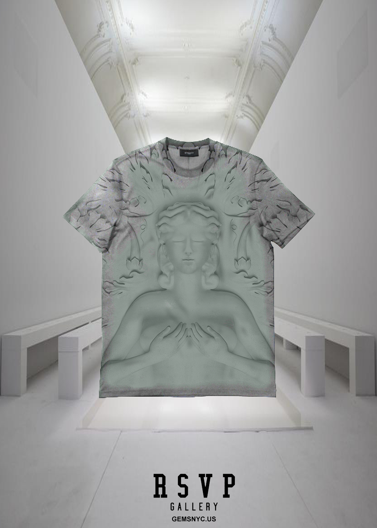 "GOOD MUSIC X RSVP GALLERY X GIVENCHY ""CRUEL SUMMER"" T-SHIRT."