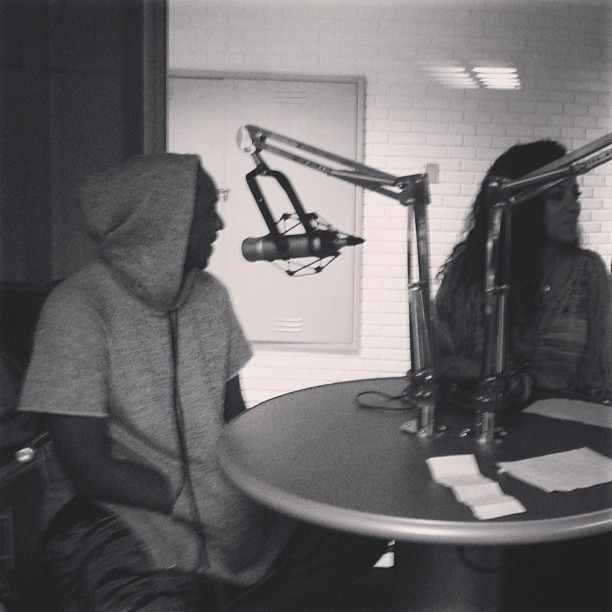 Radio interviews earlier today. Special thanks to Tropical 102.3.