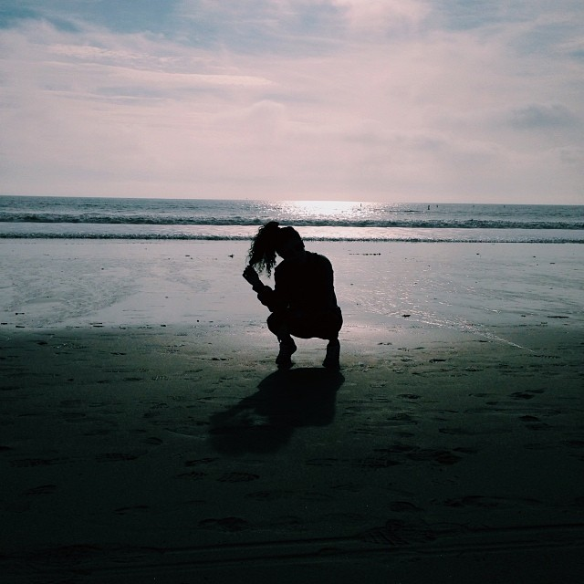 ashleyoutrageous: #bricksquat #onabeach #incali