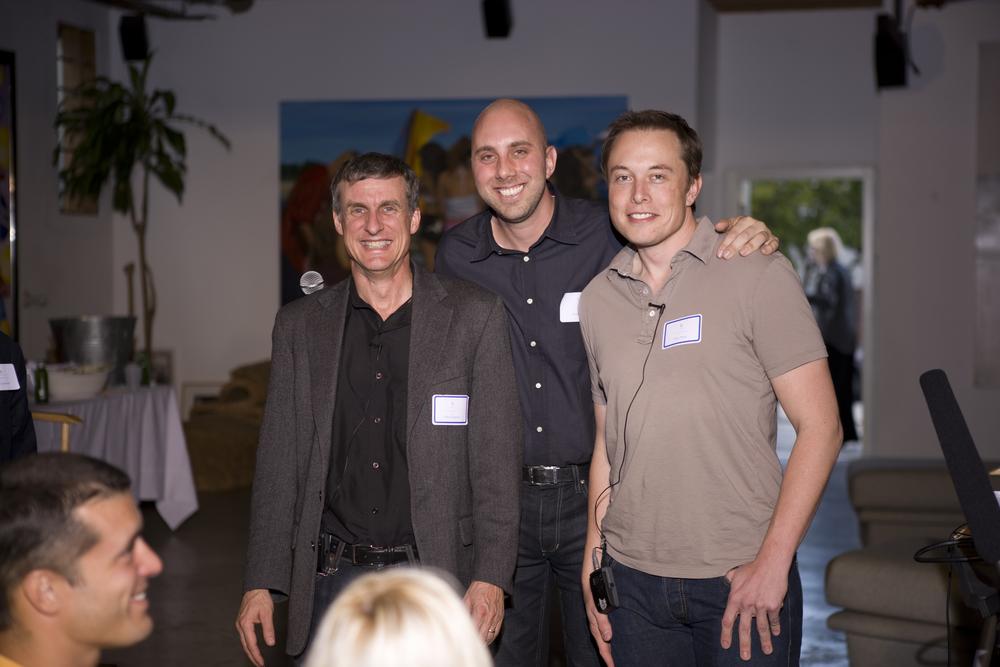 Steve Squyres, Ariel Hauter, Elon Musk