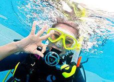 experience breathing underwater