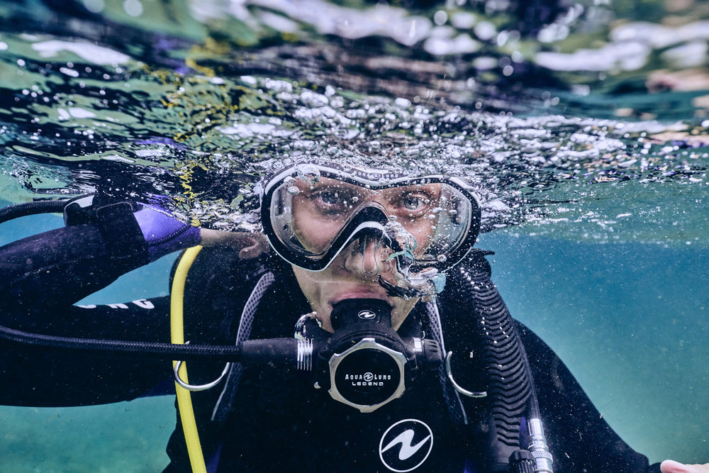 To give you a quick, easy and fun introduction to scuba diving and the underwater world! -