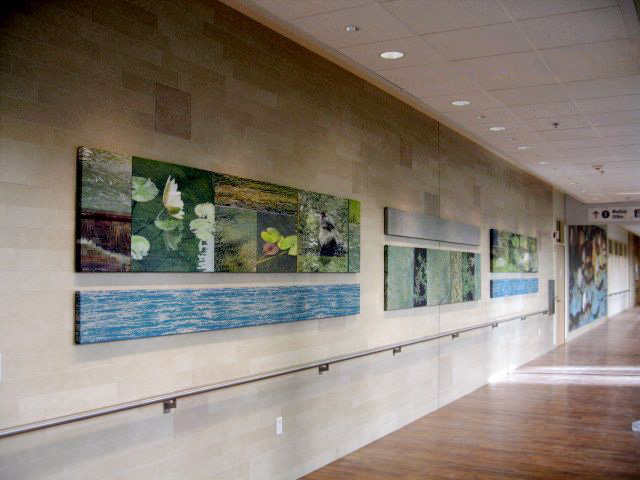 Main Corridor Art Installation
