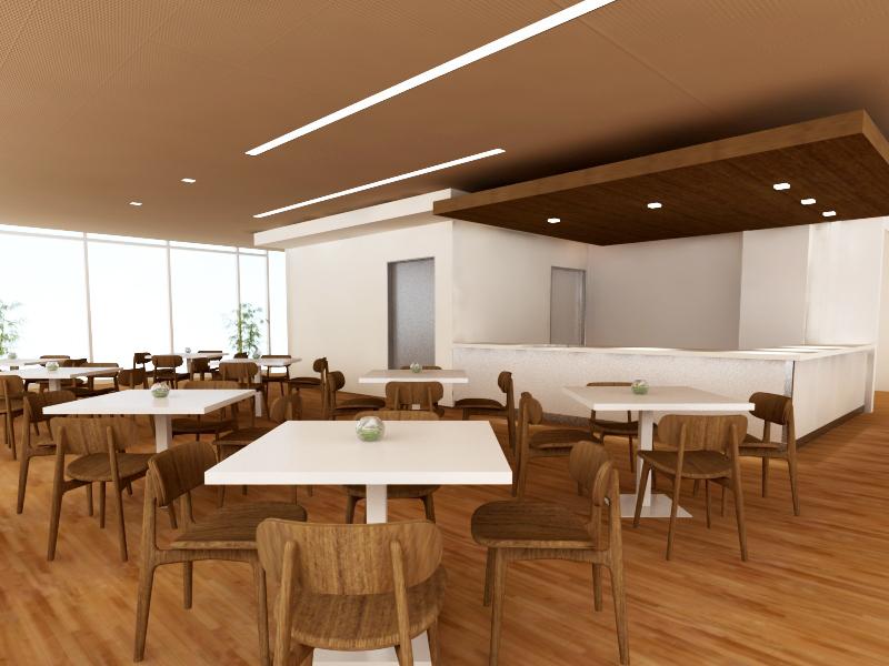 Cafeteria Rendering