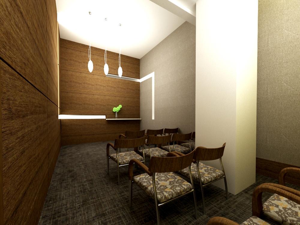 Meditation Room Rendering