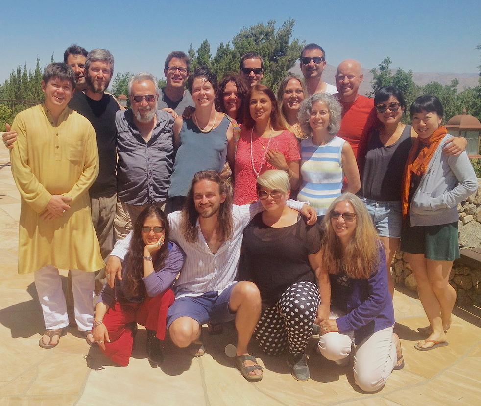 I-CODA Annual Summer Retreat with Swami Premodaya
