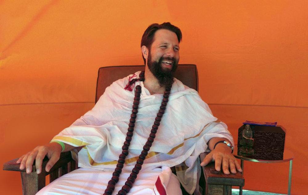 Swami Gyanmitra Prem Prasad , Spiritual Director of ICODA